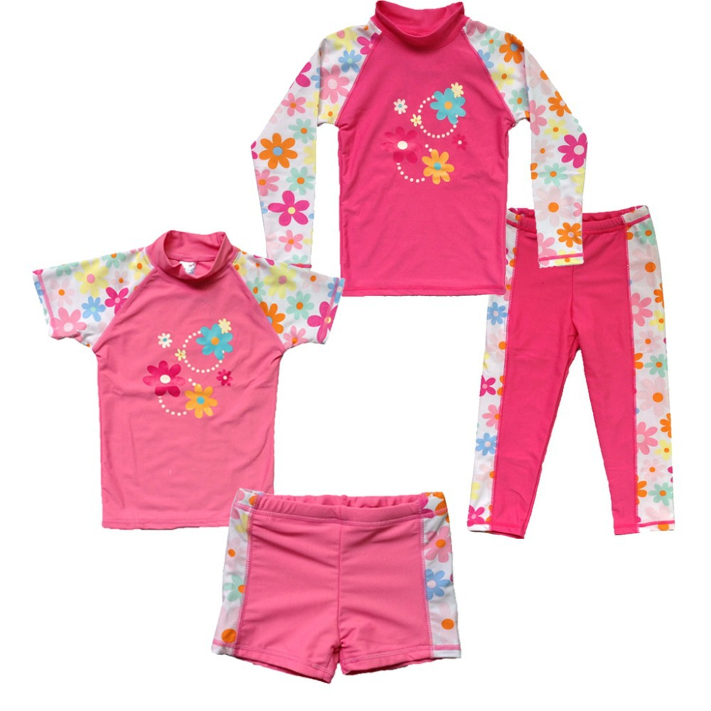 3cdfe583e8907 Hot Sale Lovely Dora flower Style Swimwear Boys Girls Kids Swimming Wear  Swimsuit New Children Beachwear Two Parts Bathing Suit-in One-Piece Suits  from ...