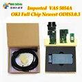5 шт./лот Новый ODIS 3.0.3 VAS5054A OKI Полный Чип VAS 5054A Bluetooth USB VAS5054 Протокол UDS Автомобиля Диагностический Инструмент 5054 сканер