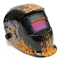 Alta Qualidade Elétrica Flame & Sexy Beleza Pro Energia Solar Máscara de Solda Auto-Escurecimento Capacete de Soldagem