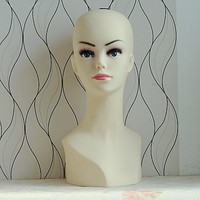 Free Shipping Mannequin Manikin Dummy Female Mannequin Head For Wig Jewelry Sunglass Hat Display M003 10