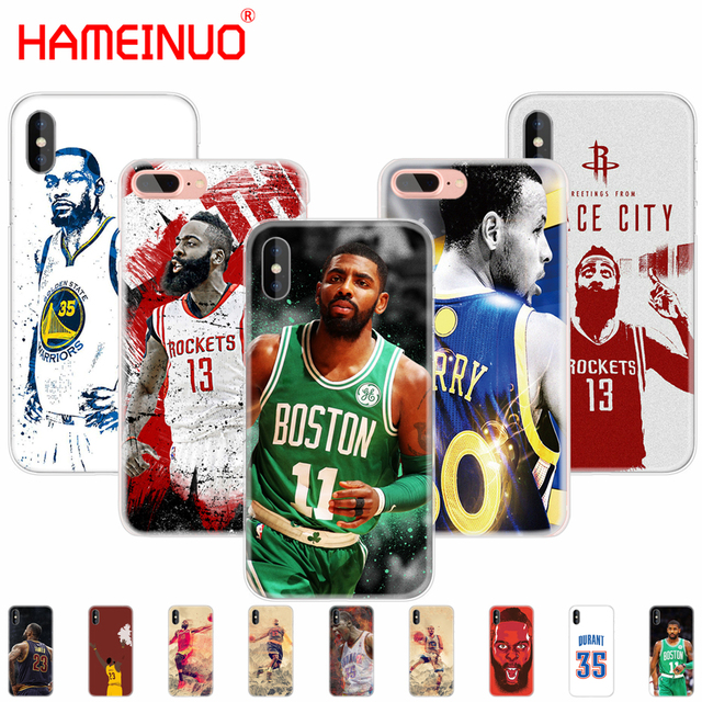 ff4be7332f98 HAMEINUO durant curry james harden Kyrie Irving basketball Cover case for  iphone X 8 6 4 4s 5 5s SE 5c 6s 7 plus case