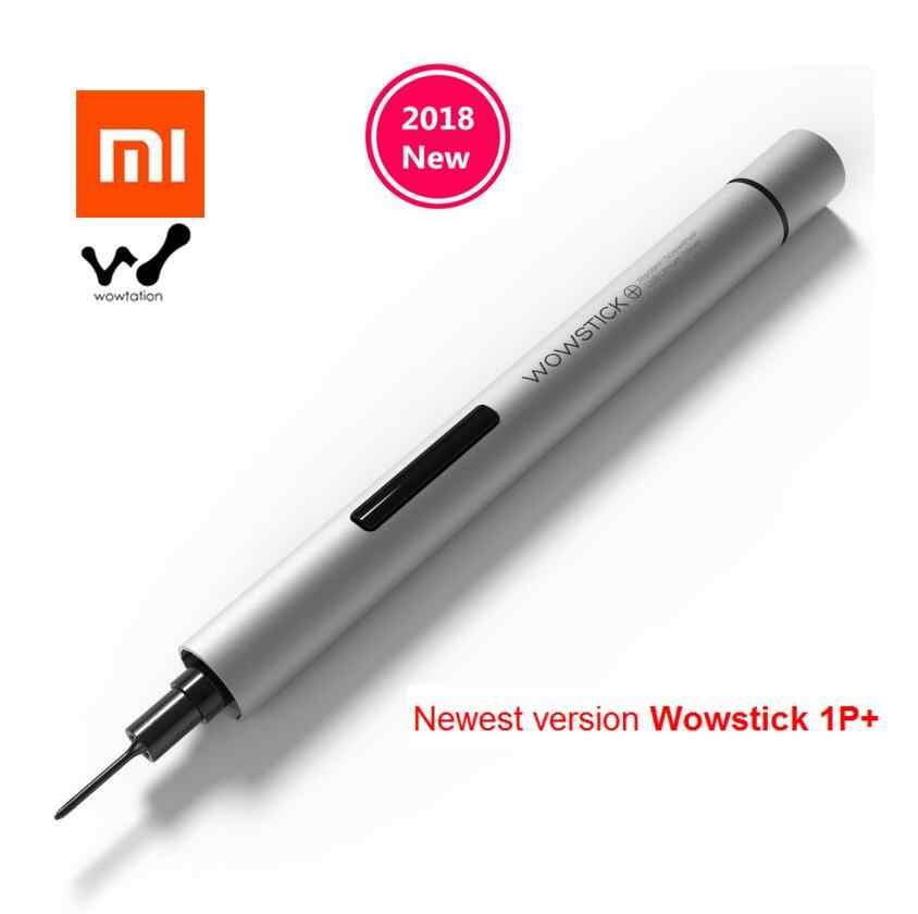 Xiaomi Wowstick 1FS 1 p + mijia обновлен отвёртки 18 бит алюминия средства ухода за кожей с комплект инструментов для творчества для починка смартфона