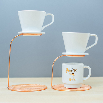 Rose Gold Pour-over Coffee Filter  1