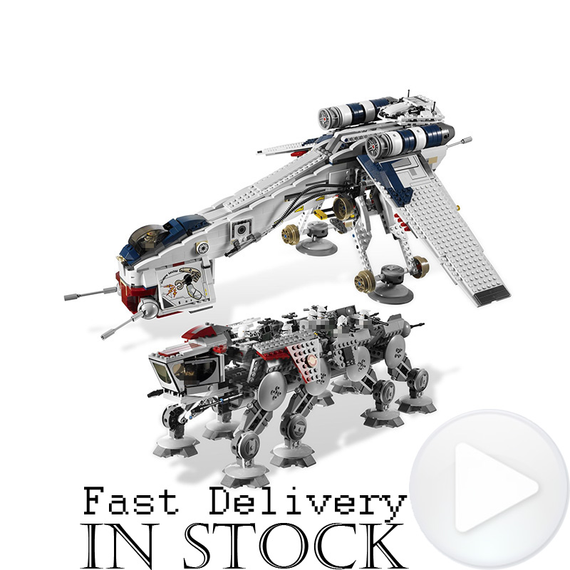 Lepin 05053 New 1788Pcs Star The Republic Dropship Wars Set Building Blocks Bricks Children Toys For children Compatible 10195 new 5041 star wars series the the republic gunship building blocks bricks toys compatible with legoingly children model starwars