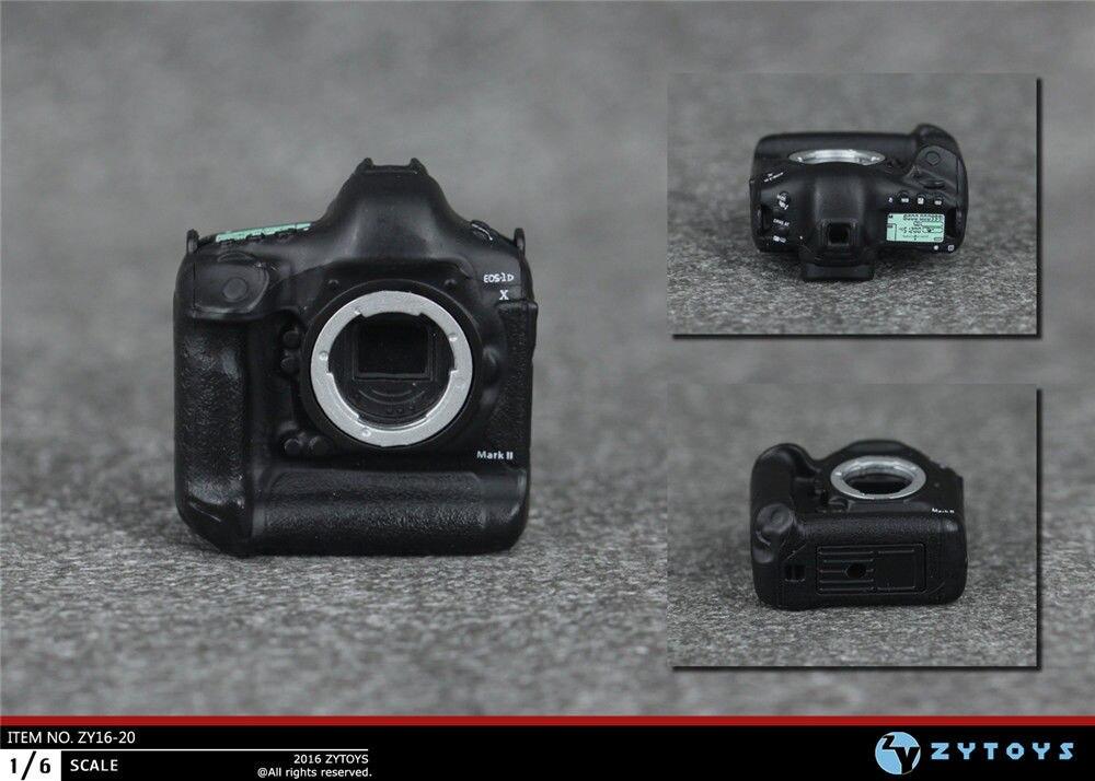 "ZYTOYS 1//6 Scale Digital SLR Camera Set Model for 12/"" Action Figure Doll Toys"