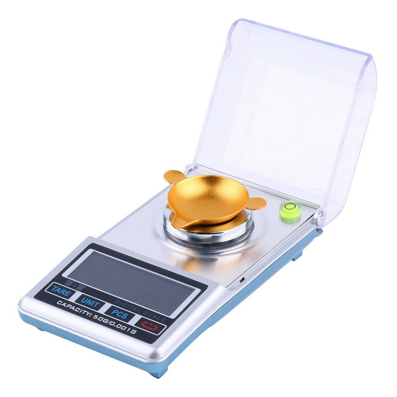 LCD Digital Scale 0.001g 50g Pocket Jewelry, Diamond Digital Weight Scale High Precision Measure