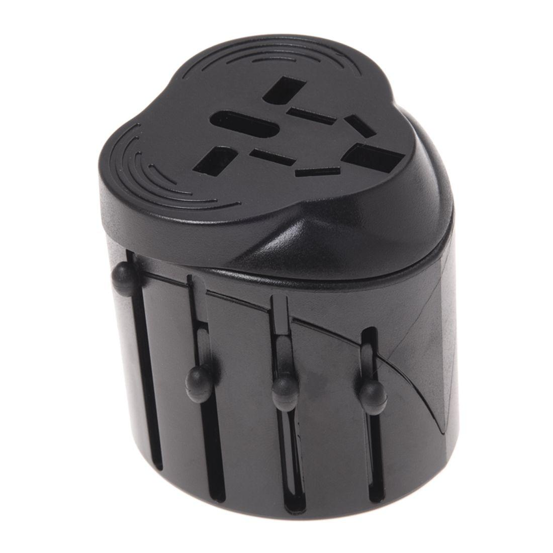 Universal Travel Dual Power Supply Plug Adapter Charger US/EU/UK/AU