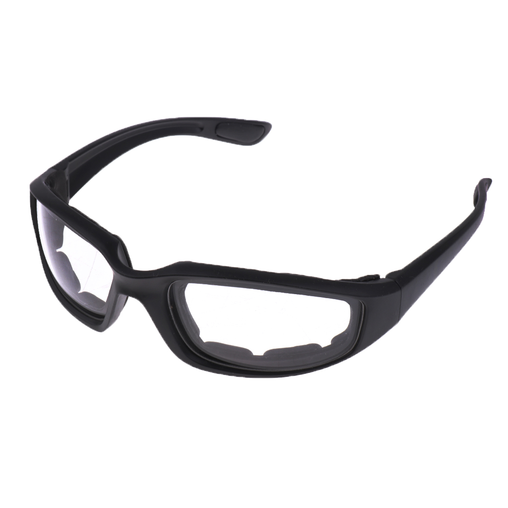 Image 2 - Мотоциклетная защита от пыли и ветра очки для верховой езды мягкие удобные прозрачные солнцезащитные очки из ПВХ зеркальные UV400 линзы защитные очки-in Мотоциклетные очки from Автомобили и мотоциклы