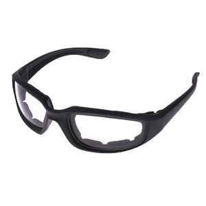Image 2 - Motorcycle Windproof Dustproof Riding Glasses Padded Comfortable Clear PVC Sunglasses Mirror UV400 Lenses Protection Goggles
