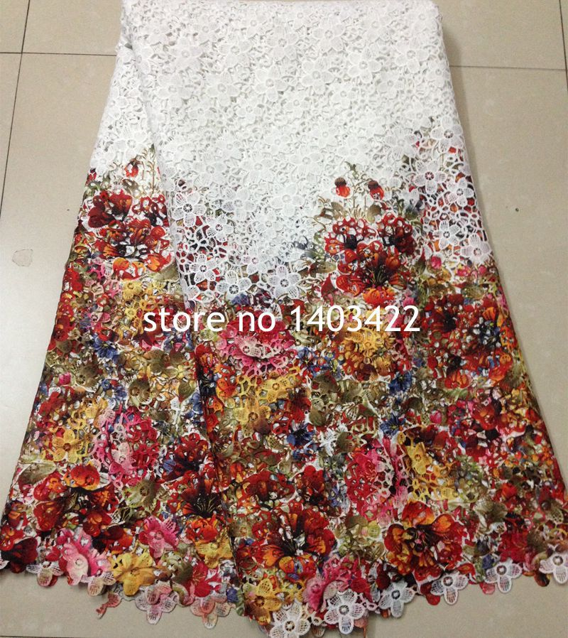tissu africain guipure