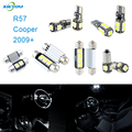 XIEYOU 9pcs LED Canbus Interior Lights Kit Package For Cooper R57 (2009+)