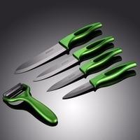 Jeslon Ceramic Knives Kitchen Knives 3 4 5 6 Inch Paring Fruit Chef Knives Cook Set