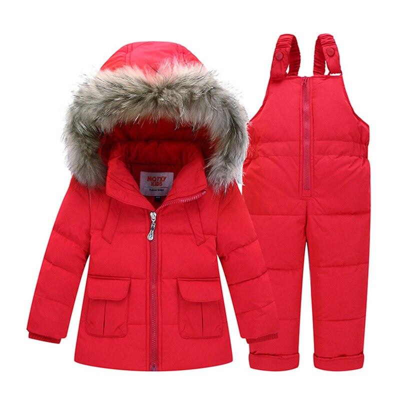 d9be1cba1 ZTOV Boys Girls Snowsuit Cute Cartoon Warm Thick Baby Boy Winter ...
