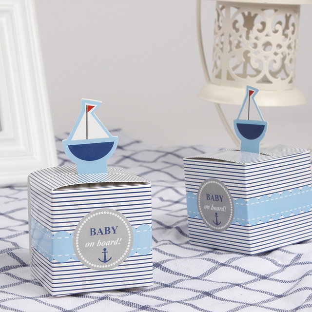12 Pcs Baby On Board Candy Boxes