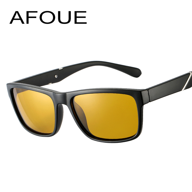 a9d6331fed AFOUE Brand New Polarized Sunglasses Men Black Cool Travel Sun Glasses High  Quality Fishing Eyewear Oculos Gafas
