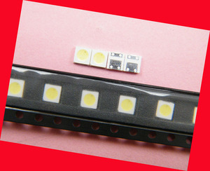 Image 4 - 200 개/몫 수리 용 philips cool hisense led lcd tv 백라이트 기사 램프 smd led 3535 3 v 냉 백색 발광 다이오드