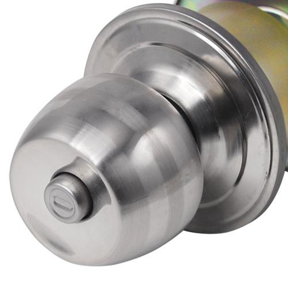 Hot sale in stock Stainless Steel Round Door Knobs Handle Entrance