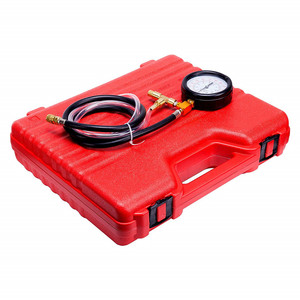 Image 2 - Auto Enigne Fuel System Oil Pressure Tester Gauge Car Diagnosis Analysis Repair Tool Kit 0 140 PSI
