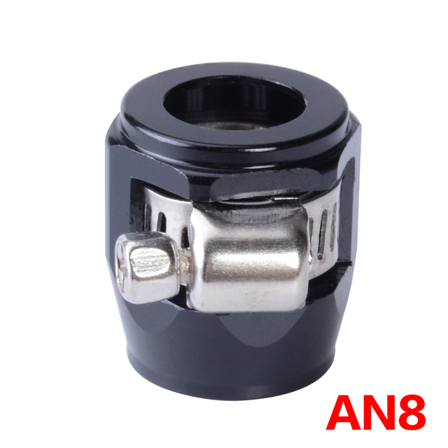 AN 8 AN APS Aluminium Alloy Fuel/Oil/Radiator/Rubber Fuel Oil Water Pipe Jubilee Clip Clamp Hose Finisher Clamp / Clip 3 Colors