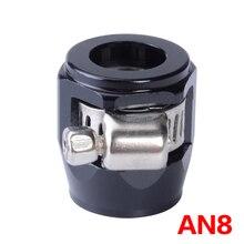 EINE 8 EINE APS Aluminium Legierung Kraftstoff/Öl/Kühler/Gummi Heizöl Wasser Rohr Jubilee Clip Clamp schlauch Finisher Clamp / Clip 3 Farben