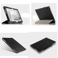 Protective Skin Genuine Leather Case For Lenovo Tab 4 10 Plus TB X704F Tb X704n 10