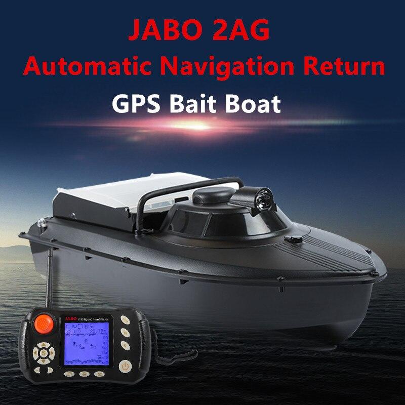 Bateau de pêche appât bateau avec marche arrière et Sonar de l'usine JABO avec sonar poisson finder pour libérer le crochet