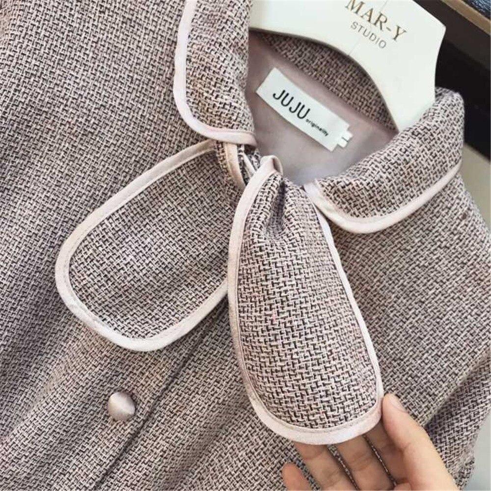 Deux Taille Hiver Sac Manteau Vent Dames Haute Petit Hanche Jupe Suit Noir rose Parfumé Piece Court Veste Ol Femmes Mode 2018 Ensemble PdfwqTxWq