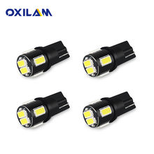 OXILAM 4x T10 W5W LED Bulb Car Interior Light For Mitsubishi Outlander Lancer 10 9 Galant ASX Pajero Sport L200 Colt Montero(China)