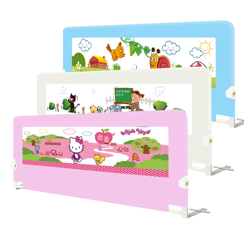 Baby Gate Door Stop safety bar sleep Baby Bed Rails 120cm 150cm 180cm 200cm Guard For Rail In Length And Color Strong