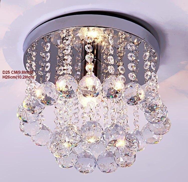Lustre de cristal iluminação superior k9 de
