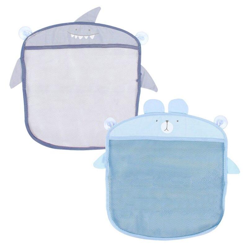 Baby Kids Bath Bathtub Mesh Net Bag Toy Storage Bags Bathroom Organizer Holder Kitchen Bathroom Accesories
