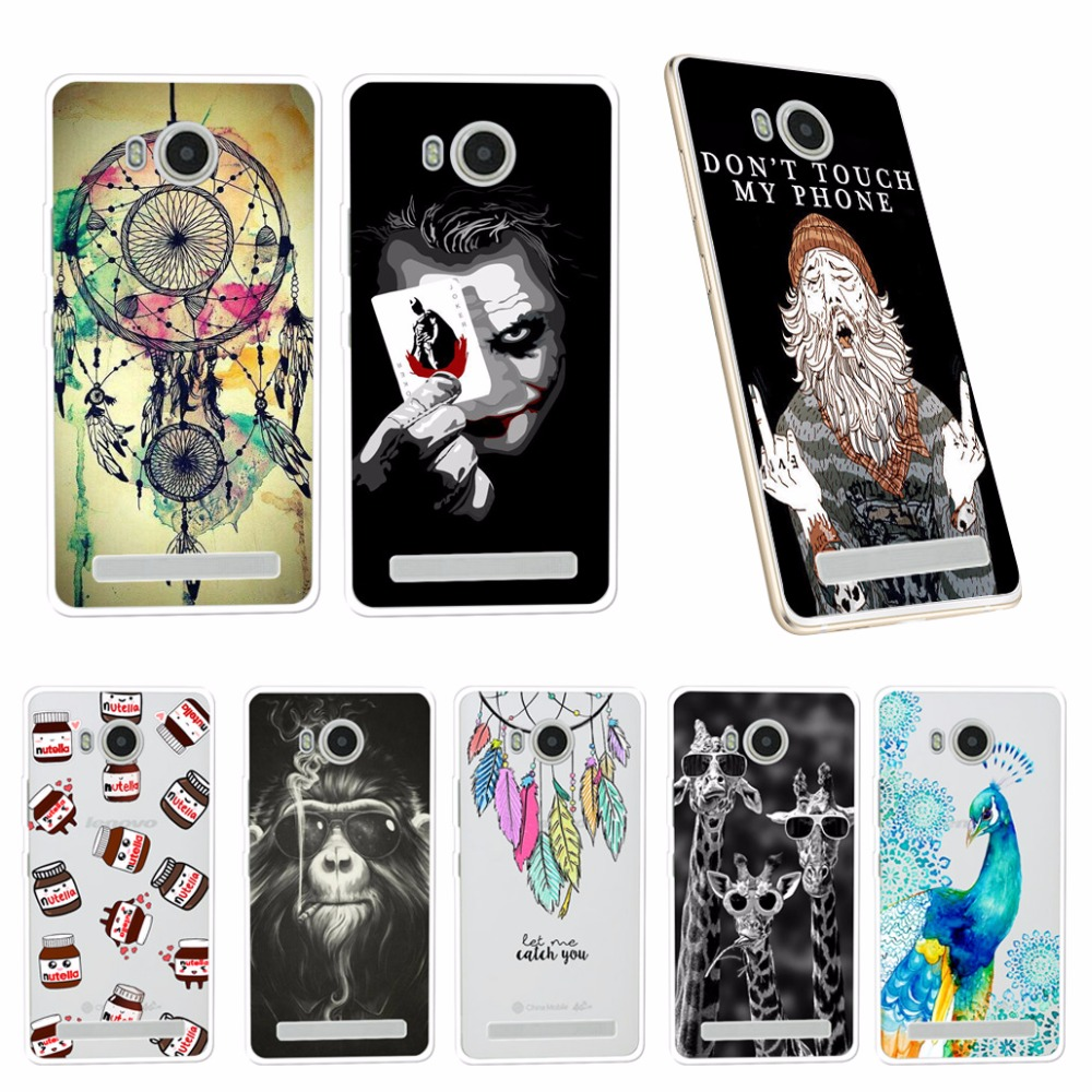 brand new 71acd d4d01 TPU Phone Cases For Lenovo A5600 A5500 A5860 Soft Silicone Cover For Lenovo  Golden Warrior S8 Play A 5600 A 5860 Mobile Shell