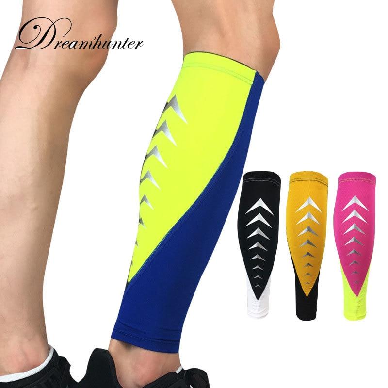 Cycling 1 Pcs Sports Protective Leg Protectors Outdoor Basketball Football Running Breathable Leg Warmers Compression Knee Socks