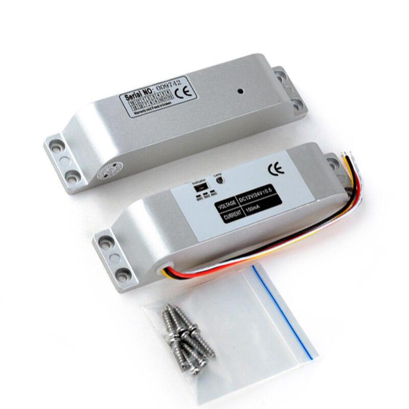 GALO électronique serrure attraper porte relâcher assemblée solénoïde contrôle d'accès 12 V 0.4A|Serrure Électrique| |  -