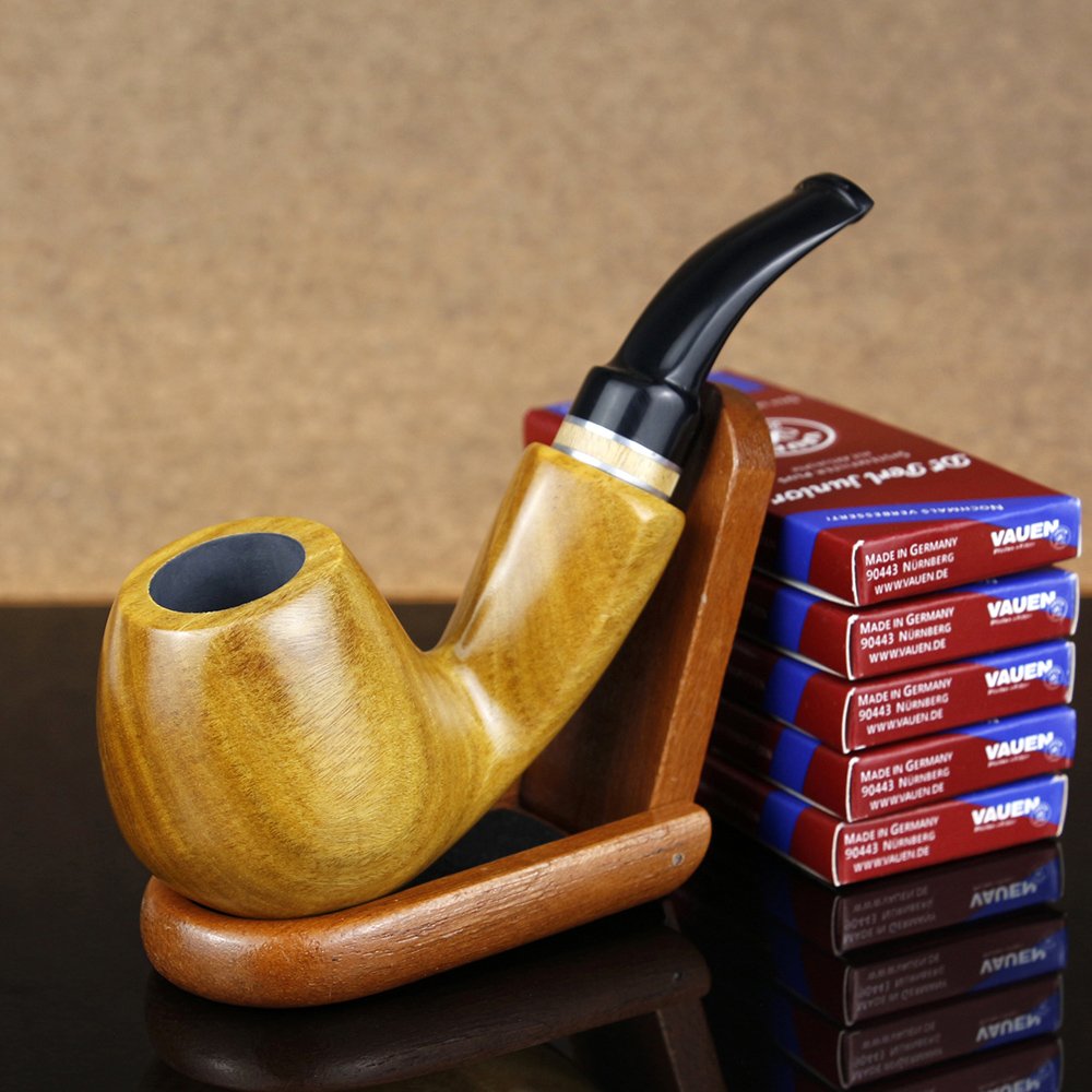 Conjunto de fumador de alta calidad 50 piezas filtro de carbón activado soporte de madera 9mm filtro verde sandalia pipa de madera pipa de fumar pipa de tabaco Filtro de bomba de pistón de 1