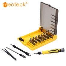 Neoteck 45 в 1 многобитные инструменты с коробкой для переноски ремонт отвертки Набор отверток