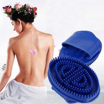 Cepillo masajeador corporal, cepillo Manual con mango, aceites esenciales, masaje corporal, relajación, meridiano, relajación física, B119