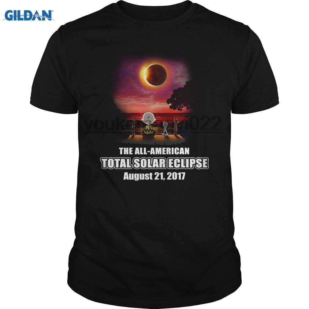 GILDAN The all American and Charlie Brown at Solar Eclipse shirthoodietank top