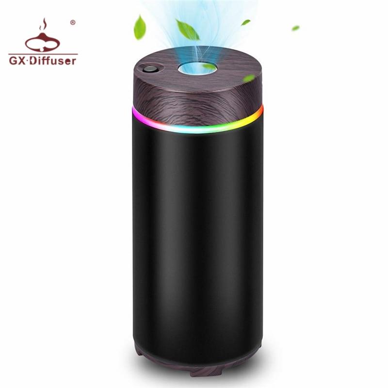 GX.Diffuser New 150ml USB GX-W01 Car Essential Oil Diffuser Aroma Diffuser Aromatherapy Air Humidifier Purifier Home Office Spa