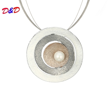 2020 Promotion Buda Druzy Chakra New Style National Wind Round Necklace Chain Stride Into Ornament Sweater Wholesale image