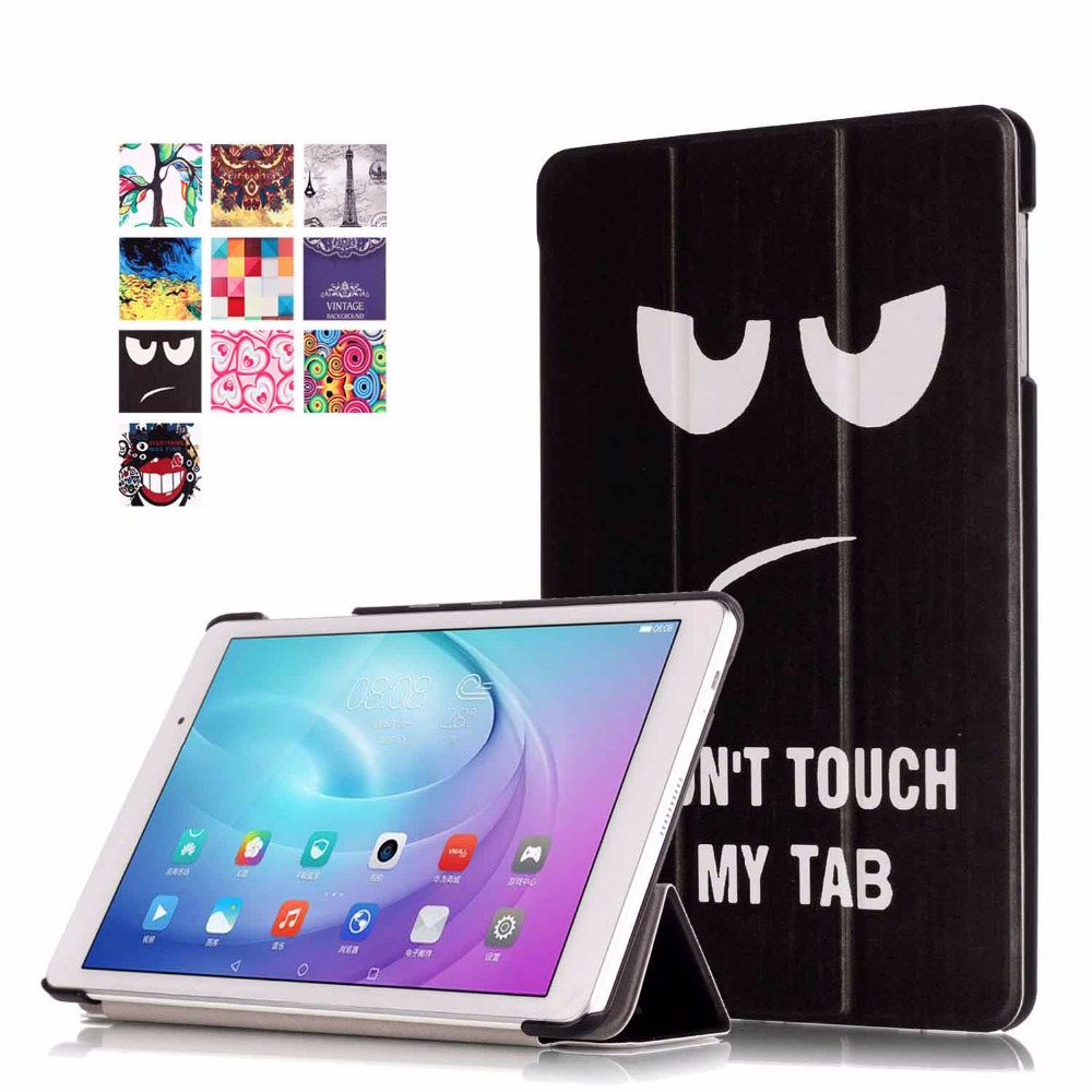 For Funda Huawei MediaPad T2 10 0 Pro Coque Cover Case New Painting PU Leather Cases