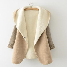 Women Knitted Cashmere Cardigan Long Sleeve Loose Warm Knit Cardigan Sweater Long Solid Slim Asymmetry Sweaters