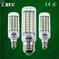 2017 Completa NOVA lâmpada LED E27 E14 69 leds 72 leds 106 leds SMD 5730 Bulbo De Milho 220 V Holofotes lamparas led LEDs luz de Velas do Candelabro