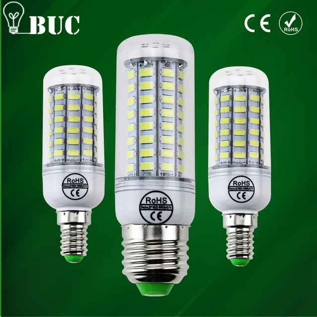 ECO Full NEW LED lamp E27 E14 69leds 72 leds 106leds Corn Bulb