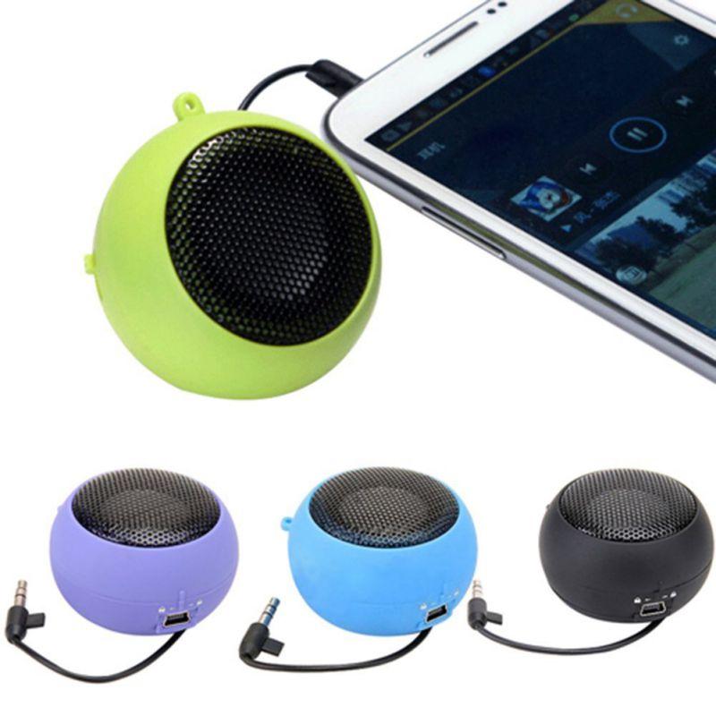 Mini Portable Hamburger Speaker Amplifier For iPod iPad Laptop For iPhone Tablet PC Portable Speaker For