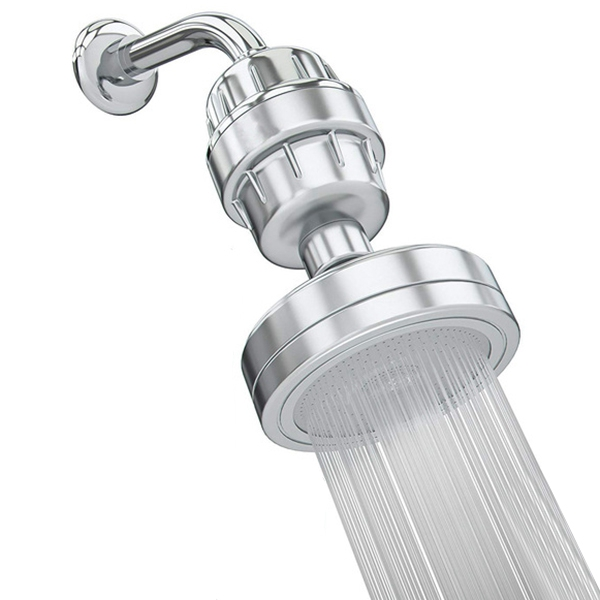Filtered Shower Head Set 15 Stage Shower Filter For Hard Water Removes Chlorine And Harmful Substances Showerhead Filter Hig in Shower Heads from Home Improvement