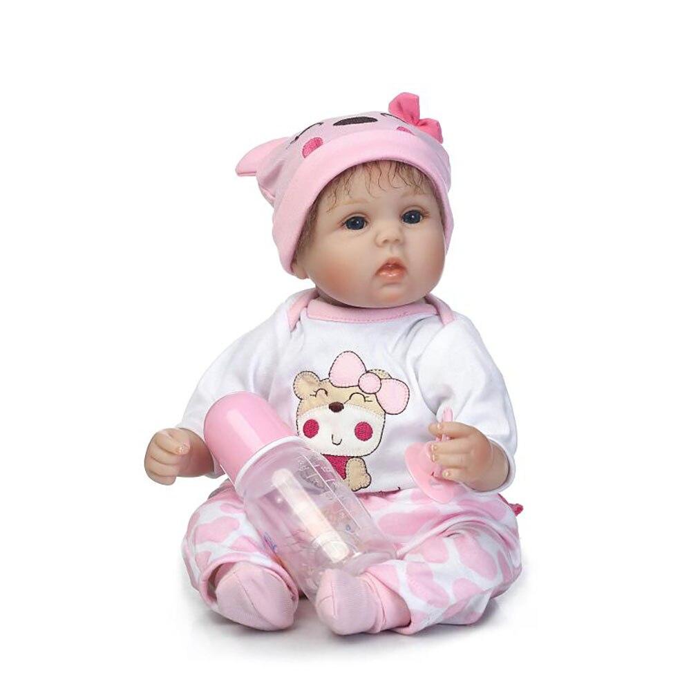 40cm recién nacido muñecas bebe bebe muñecas renacidas niños - Muñecas y accesorios - foto 3
