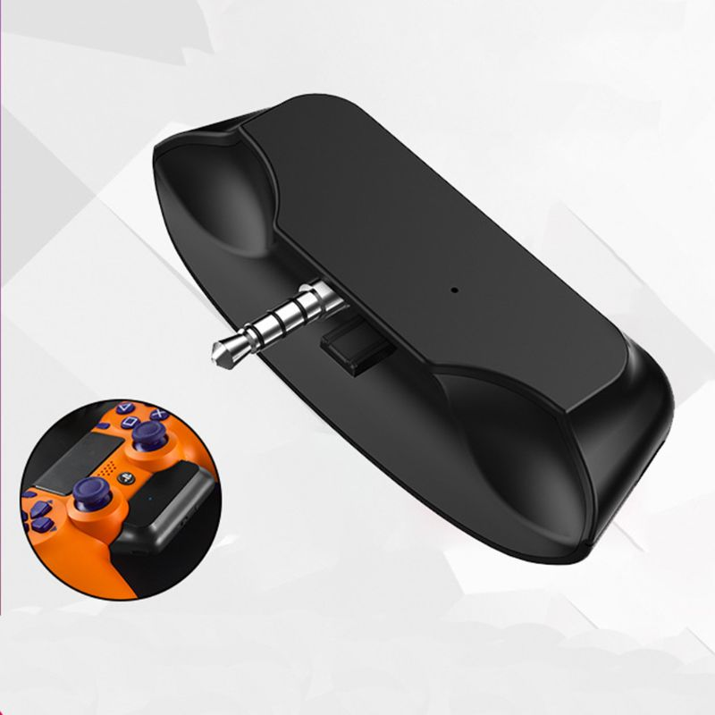 Wireless Bluetooth 5.0 Adapter For PS4 Aux  Receiver With Handsfree Fast Charging Adapter For Bluetooth Headphone
