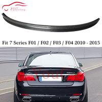 F01 Carbon Fiber Rear Spoiler Wing Trunk Boot Lip for BMW 7 Series F01 F02 F03 F04 Sedan 2010 2015 730i 740i 750i 760i