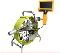 Труба инспекции Камера Системы с 40 мм наливные Камера Водонепроницаемый бороскоп эндоскопа подводный воздуховод толкатель